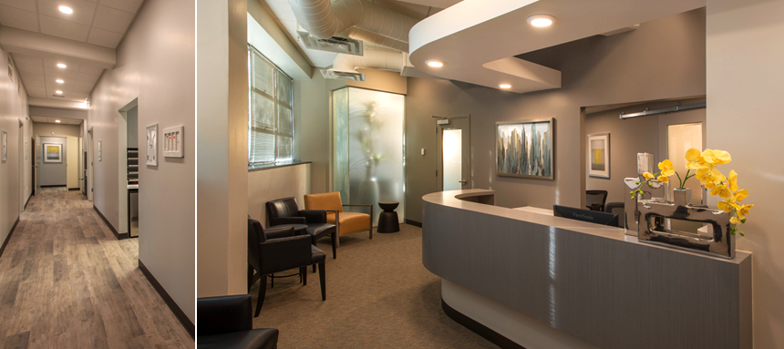 Full service architecture and interior design lynne thom for Dental office interior design