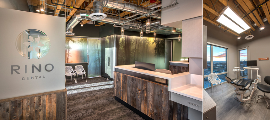 National Dental Office Building Interior Design Architecture and Remodel
