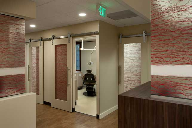 Dental office architecture and interior design bissell for Dental office interior design