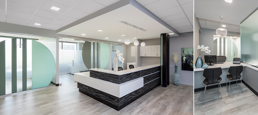 Oral Maxillofacial Surgery Office Interior Design and Architecture