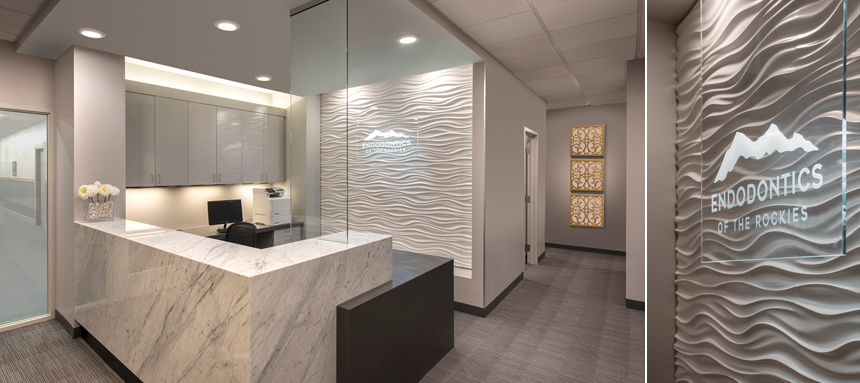 Endodontics Office Building Interior Design Architecture