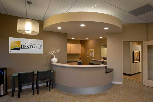 Dental Office Architecture and Interior Design - Granite Springs ...