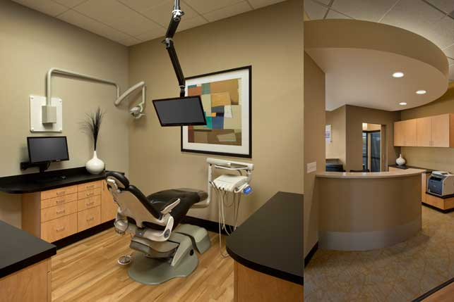 dental office architecture and interior design granite