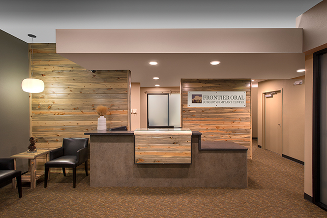 Oral Surgery Office Architecture and Interior Design - Frontier ...