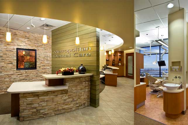 Dental Office Architecture and Interior Design - Metropolitan