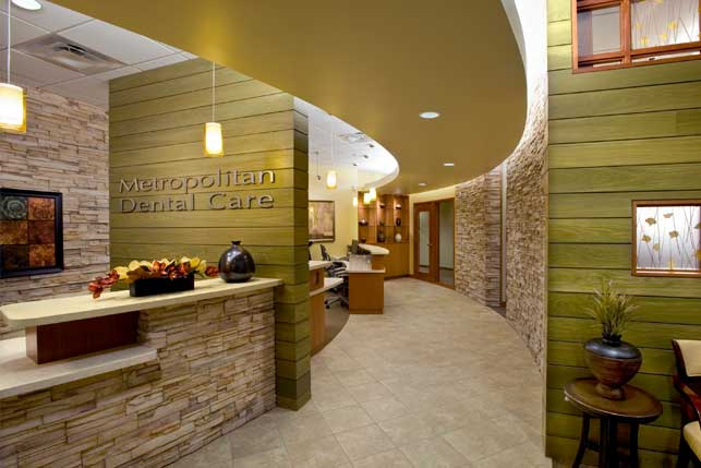 Dental office architecture and interior design for Dental office interior design